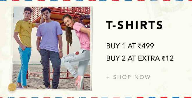 Mintra Loot - Buy 1 Product & Get 1 Extra Product For Rs.12 (Limited Period Offer)
