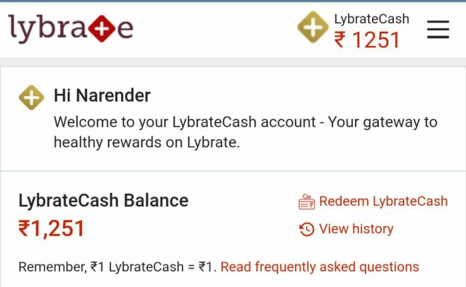 Lybrate Free Cash Loot - Get Free Rs.1250 Lybrate Cash For All Users