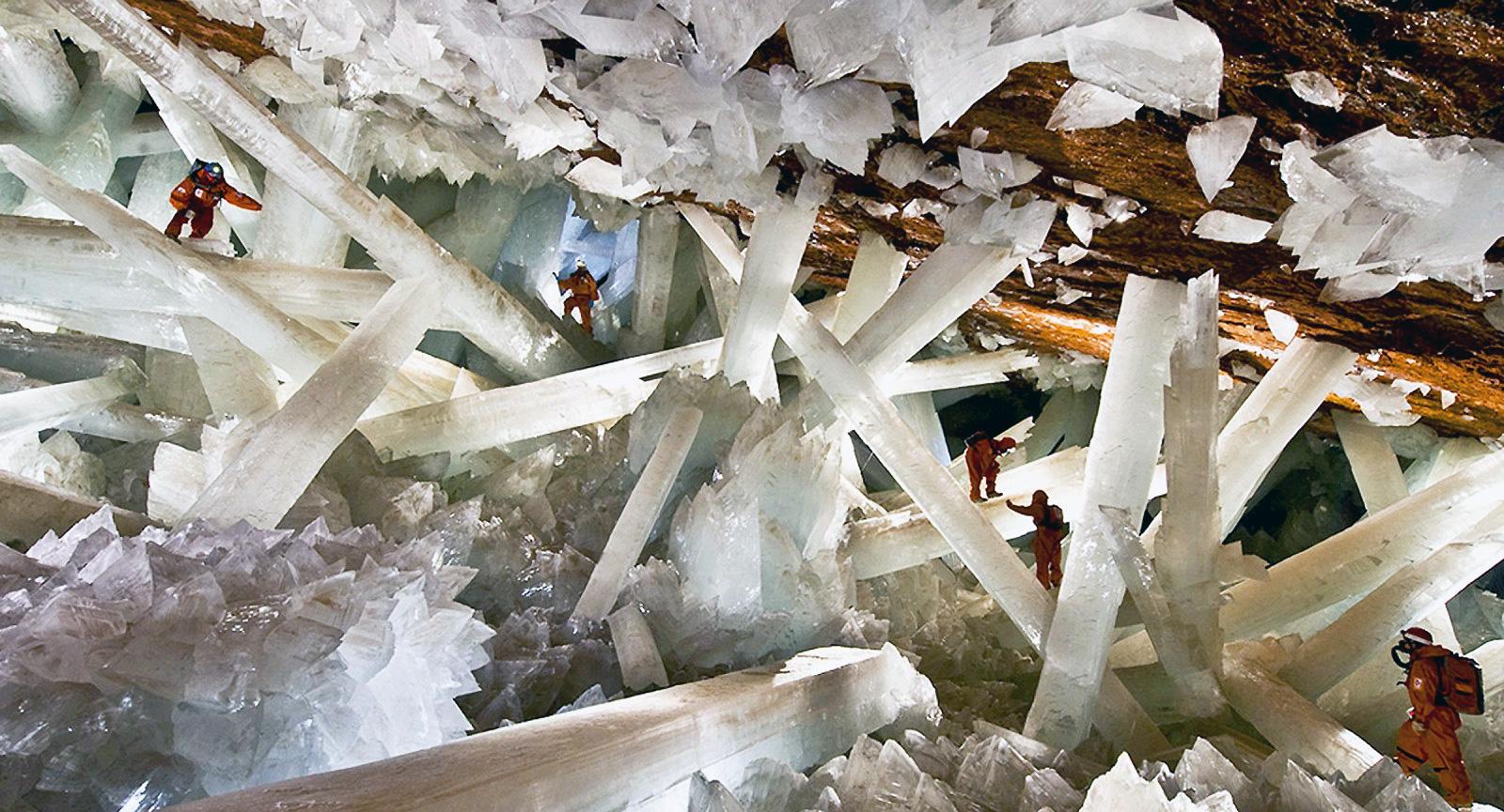 Gruta de cristais