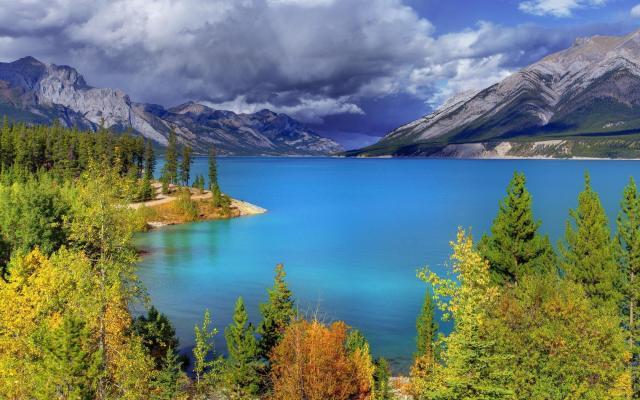 Lago Abraham – Canadá