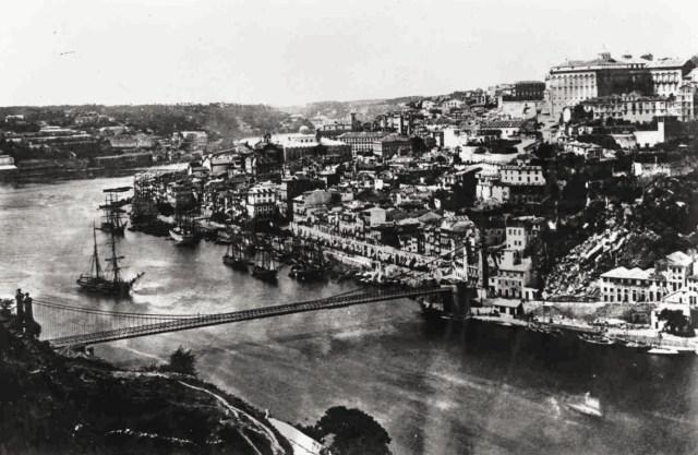 ponte pênsil do Porto