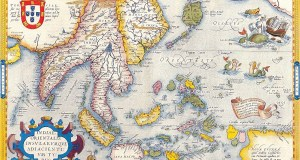 Mapa da Indonésia