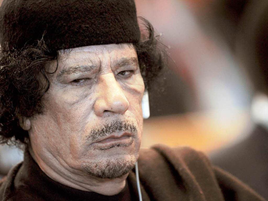 Muamar Al-Kaddafi