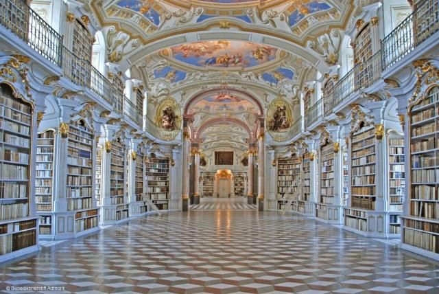 Biblioteca da Abadia de Admont, Áustria