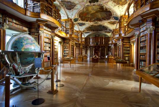 As 20 bibliotecas mais bonitas do mundo