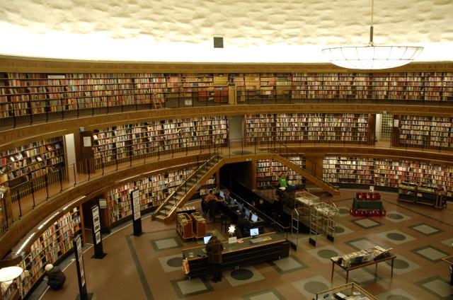 Biblioteca de Estocolmo, Suécia