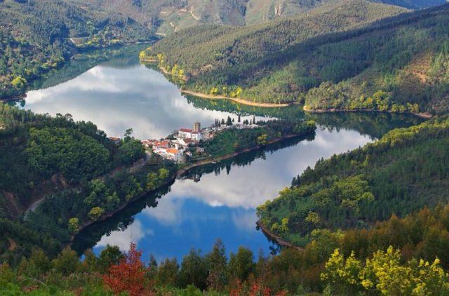 Dornes, a península encantada dos Templários