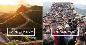 Viagens de Sonho: Expectativa e Realidade