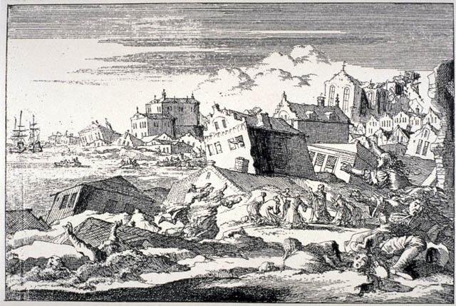 O devastador Terramoto de 1755