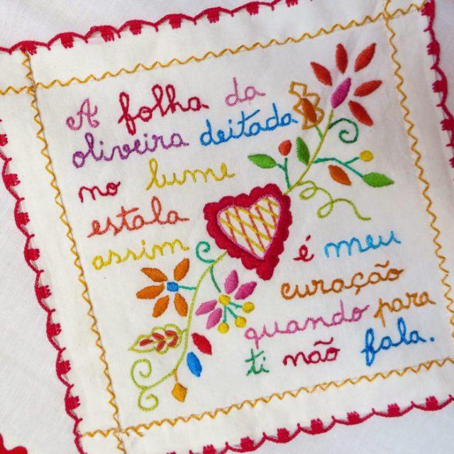 Lenços dos namorados, tradição de amor à portuguesa