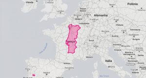 22 mapas vão mostrar-lhe o verdadeiro tamanho de Portugal