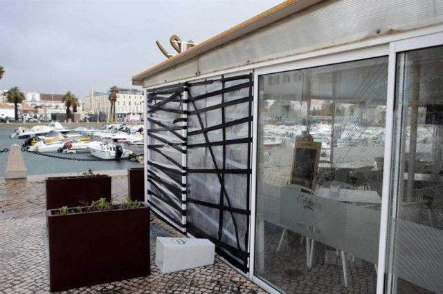 As imagens da tempestade que afetou Portugal