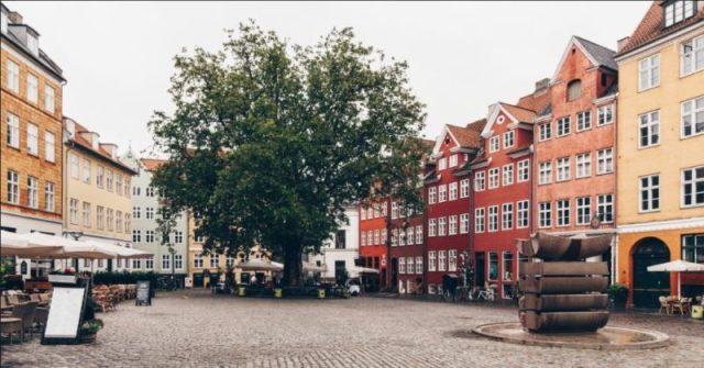Praça Grabrodretorv em Copenhaga, Dinamarca