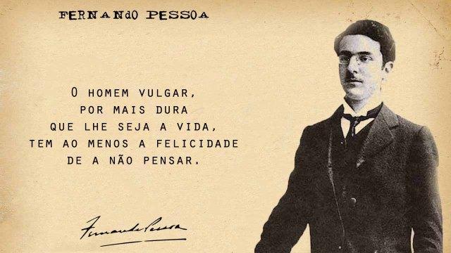 Língua Portuguesa 30 Das Melhores Frases De Fernando Pessoa