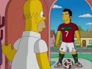 Portugal e México na final do Mundial, previram os Simpsons