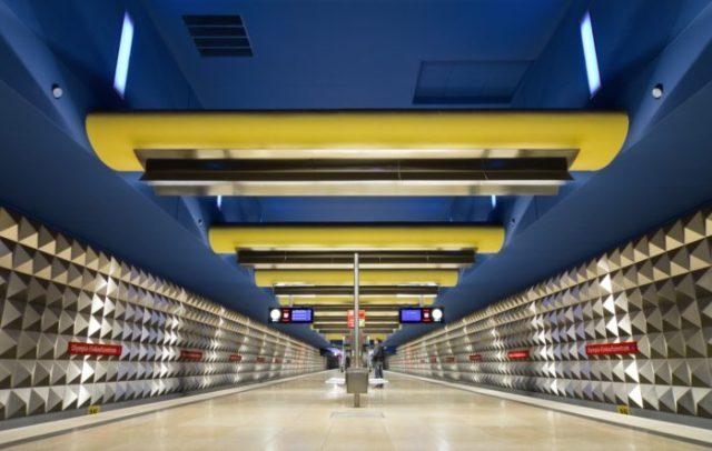 14 Estação OEZ, Munique, Alemanha - © Flickr