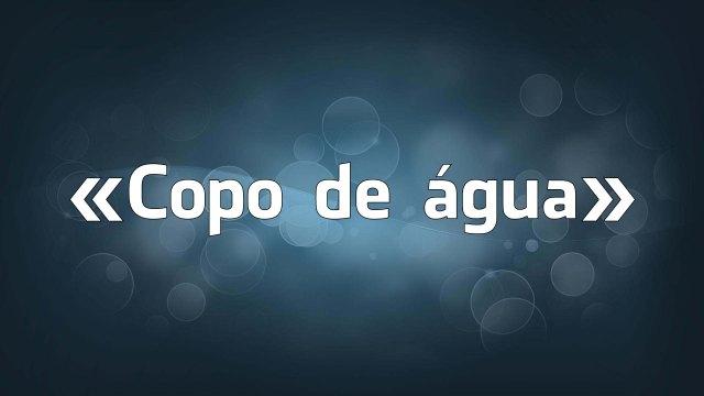«Copo de água» - os erros falsos de português