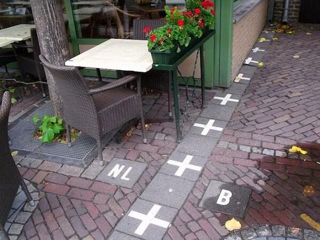 Qual é a mais estranha fronteira da Europa?