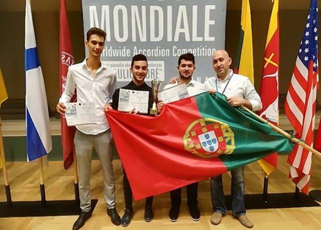 João Palma, de Loulé, sagra-se Campeão do Mundo de Acordeão na Lituânia