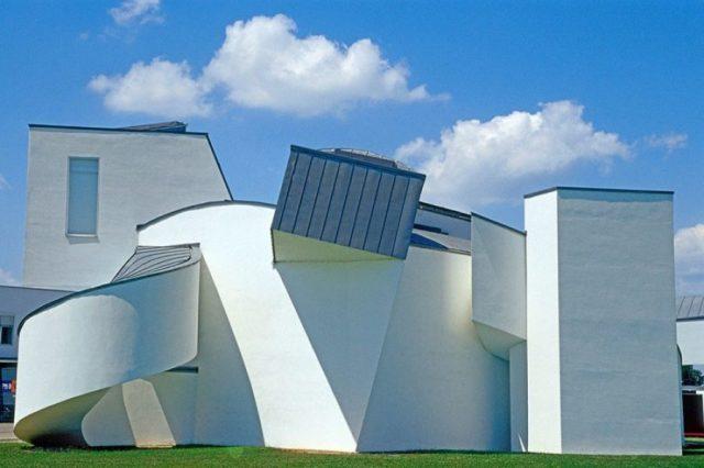 El Museo de diseño Vitra, Weil am Rhein