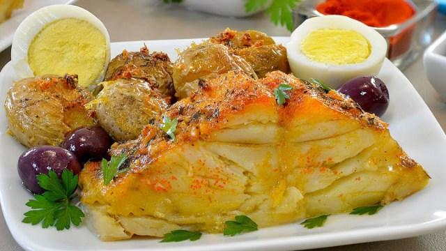 Em Portugal come-se muito bacalhau. Porquê?