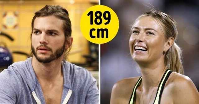 50 celebridades cuja estatura poderá surpreender
