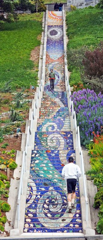 16th Avenue Steps, São Francisco, USA