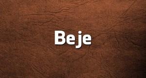 Bege ou Beje