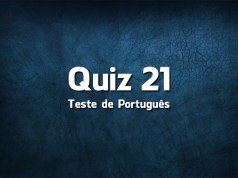 Quiz da Língua Portuguesa «21»