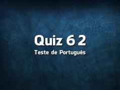 Quiz da Língua Portuguesa «62»