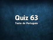Quiz da Língua Portuguesa «63»