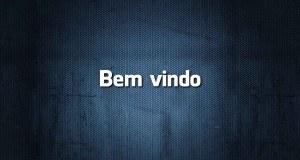 Bem vindo é erro de português?
