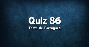 Quiz da Língua Portuguesa «86»