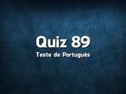 Quiz da Língua Portuguesa «89»