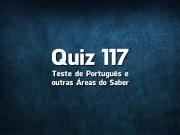 Quiz da Língua Portuguesa «117»