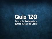 Quiz da Língua Portuguesa «120»
