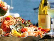 rosé e espumante para acompanhar marisco