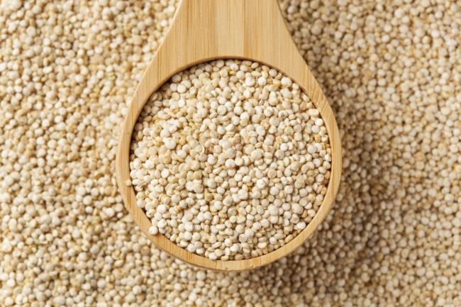 propriedades da quinoa em grãos