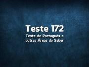 Teste de Português «172»
