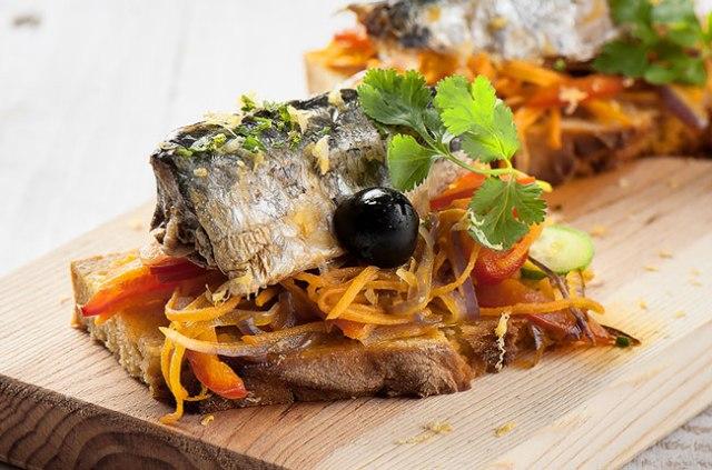 petiscos da culinária portuguesa
