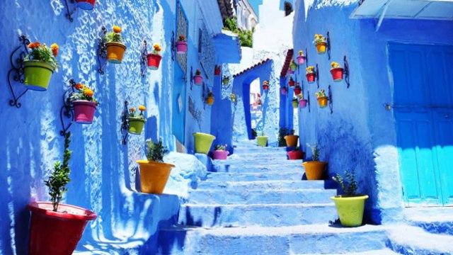 destinos mais coloridos do mundo