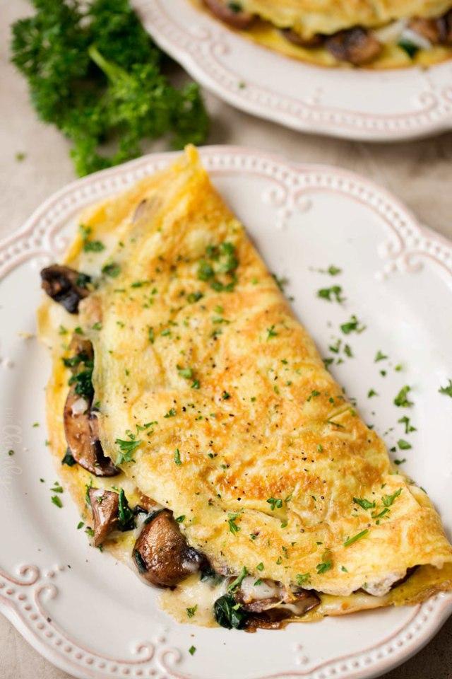 receitas de omeletes