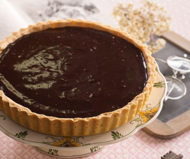 receitas de tarte de chocolate