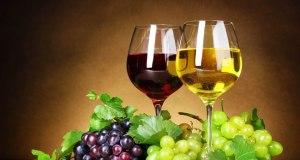 copo de vinho tinto ou branco por dia
