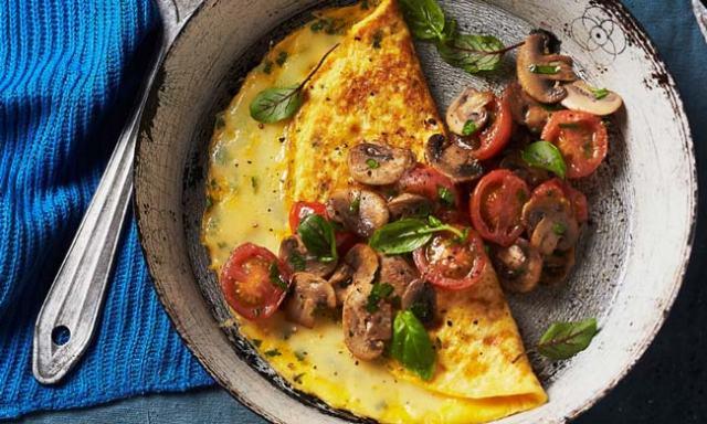 receitas das melhores omeletes do mundo