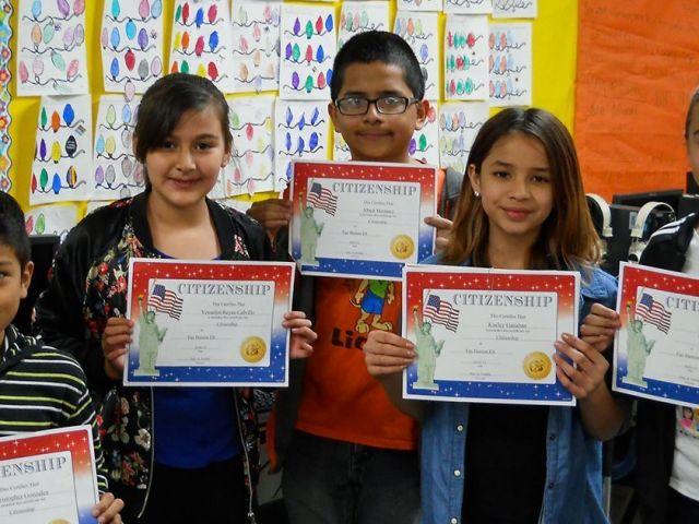 Fay Herron Elementary School Students
