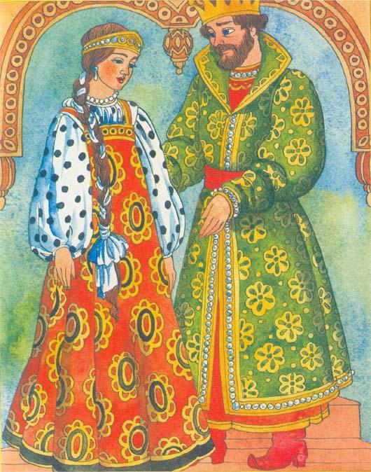 Русские сказки с королевами с картинками