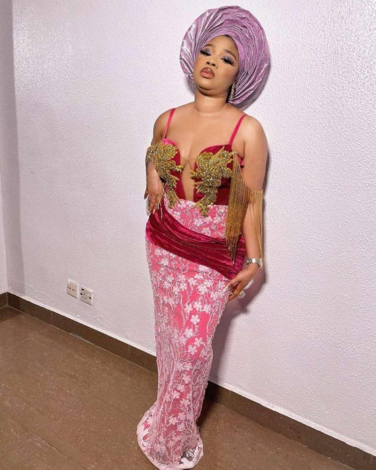 asoebi style dress bustier