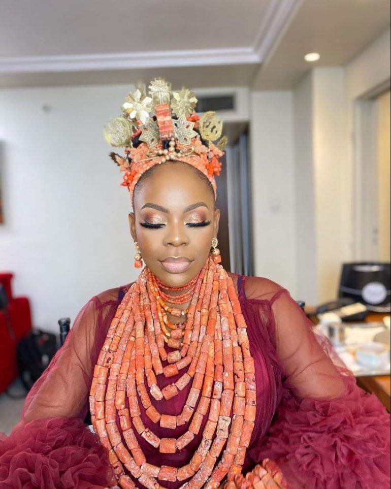 edo traditional wedding makeup