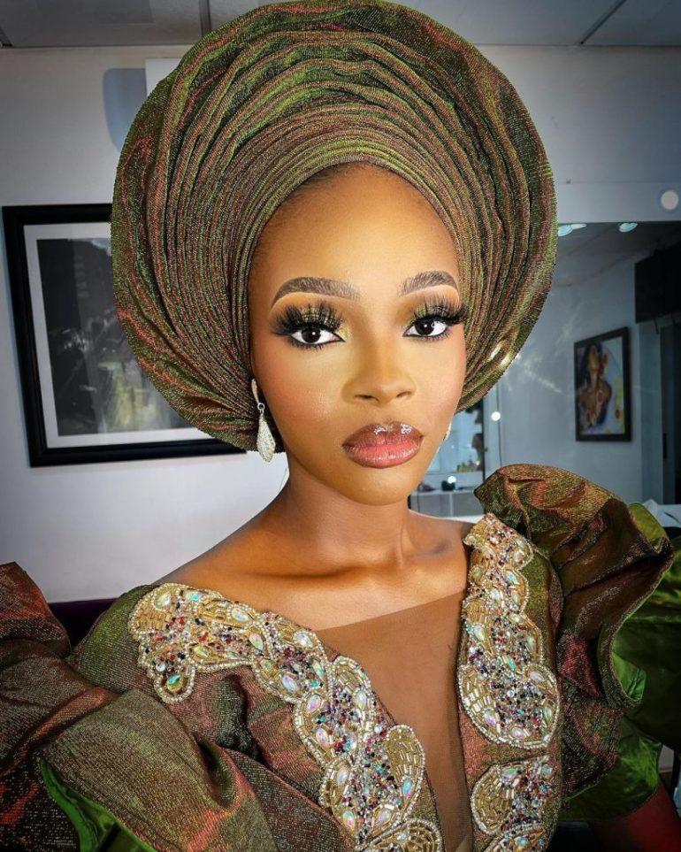 yoruba bridal makeup